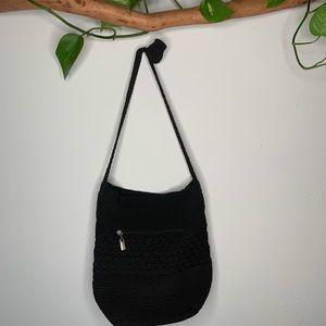 Knit boho purse